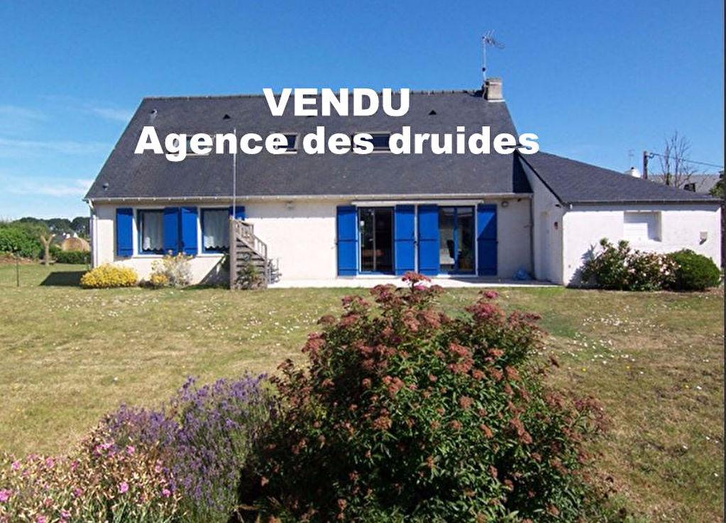Achat vente maison 4 chambres 1300m² de terrain immobilier CARNAC 56340