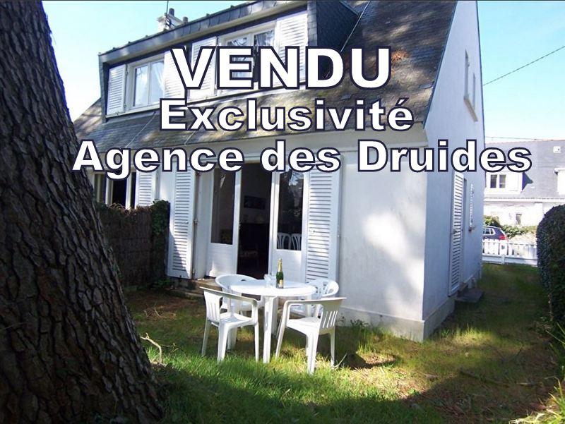 Maison vendue agence des druides 2 à 3 chambres Carnac Grande Plage 4 pièce(s) 53 m2
