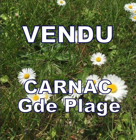 Ile du Ponant, avenue d'Arvor, Avenue Duguesclin, Rare, terrain constructible proche plage à CARNAC  817 m²