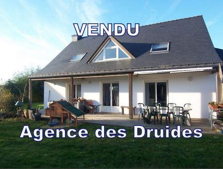VENDU AGENCE DES DRUIDES CARNAC PLOUHARNEL Maison 6 pièces.