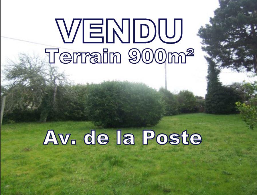 A VENDRE Beau Terrain constructible 900 m² (CES 40 %) centre ville CARNAC - 56340