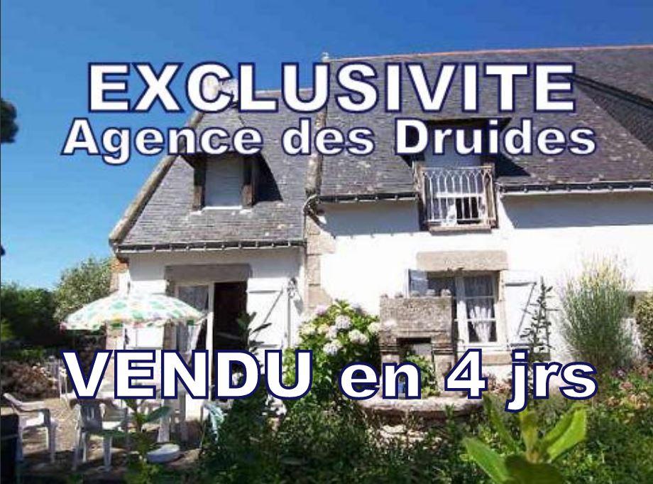 achat vente CARNAC PLAGE Maison de charme  5 pièces 3 chambres  possibilité 4 - 93 m²
