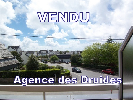 A VENDRE - A ACHETER , CARNAC VILLE, 2 pieces duplex balcon parking - 56340