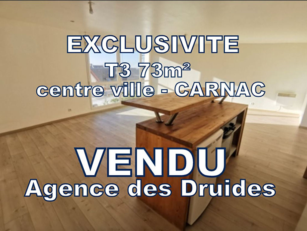 a vendre Appartement Carnac 3 pièce(s) 73.47 m2