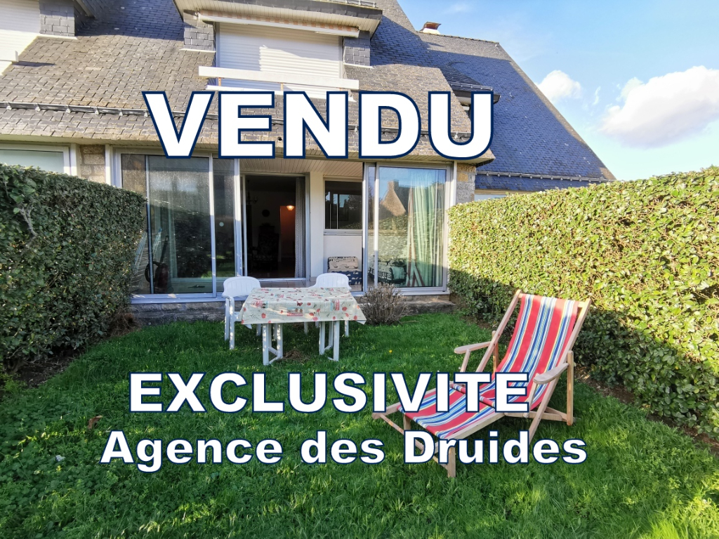 A vendre Carnac plage - Légenèse Appartement 38m² + terrasse en rez de jardin cave et parking