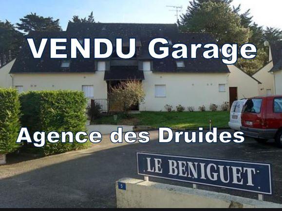 A VENDRE Garage en sous-sol - Carnac Plage (56340)