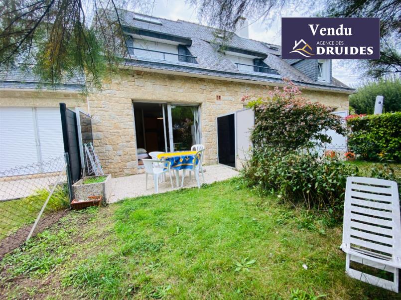Achat vente Appartement 2 pièces avec jardinet Carnac 56340
