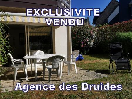 ACHAT VENTE APPARTEMENT RDC 3 PIECES LEGENESE TY BIHAN CARNAC