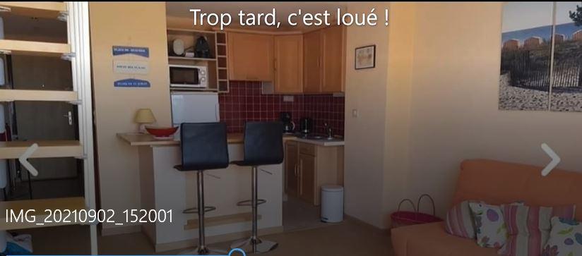 Appartement  2 pièce(s) meublé 31.60 m2