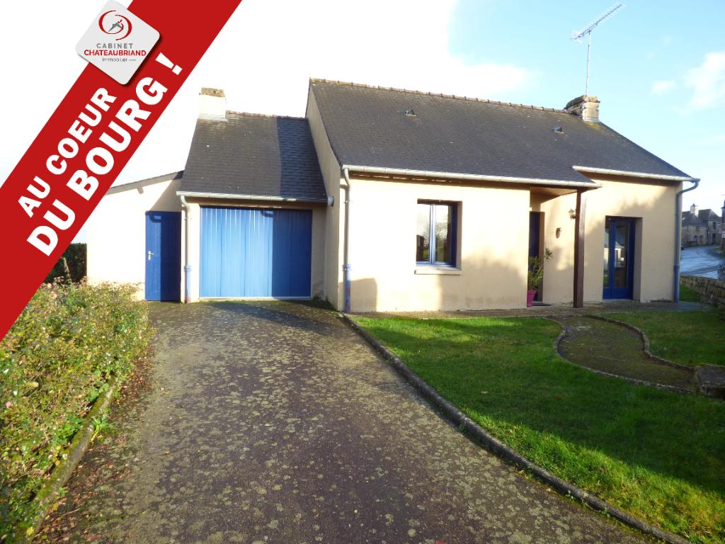 Maison Plain-pied Bazouges La Perouse 4 pièce(s) 60 m2