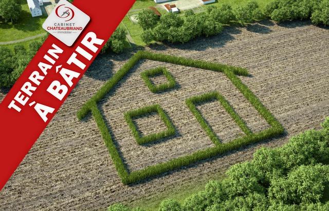 Terrain constructible à vendre La Boussac 755 m2