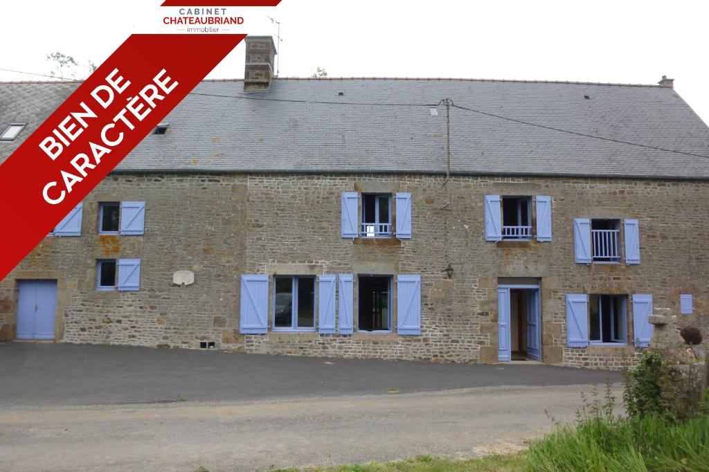 Grande Longère Bazouges La Perouse 10 pièce(s) 230 m2