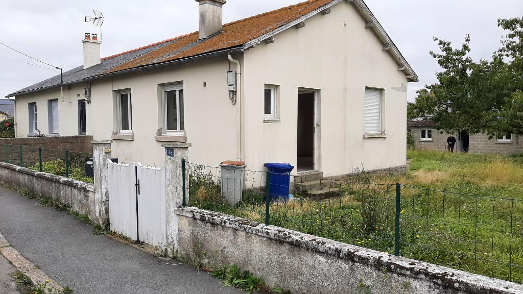 Maison de plain-pied à Saint Malo 3 pièce(s) 60 m2