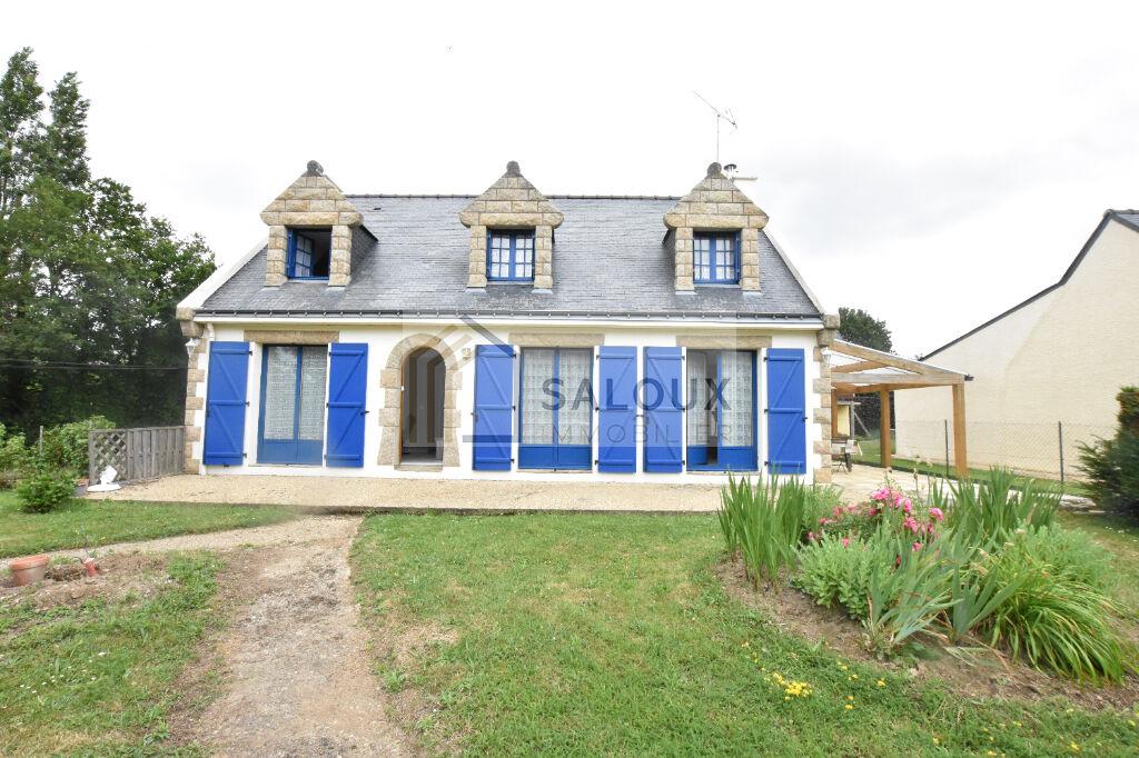 AMBON côté MER - Maison de 120m² sur + 1000m² de terrain