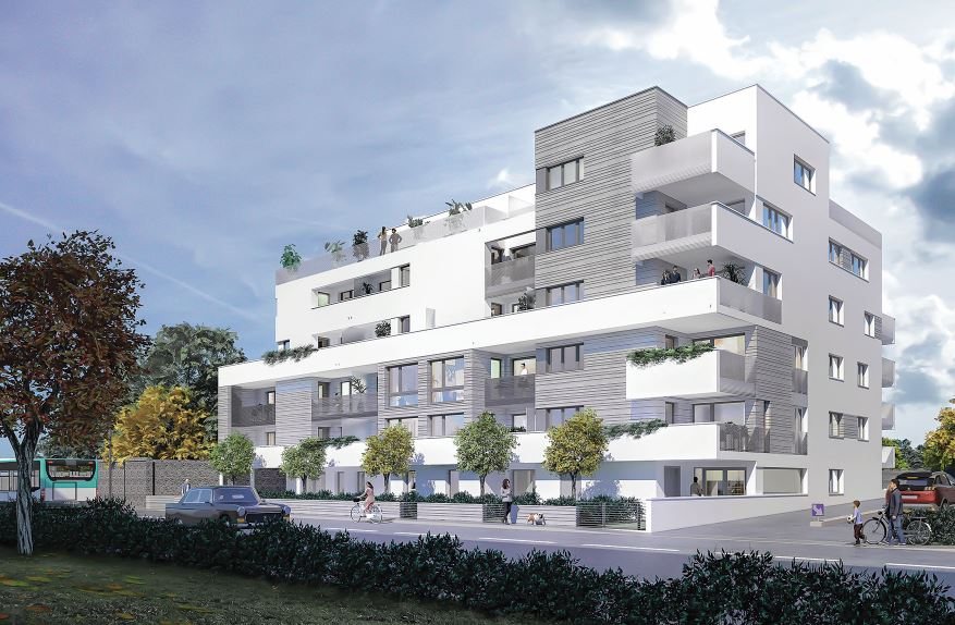 RENNES Saint-Hélier - Appartement Dernier étage 4 pièce 88 m2