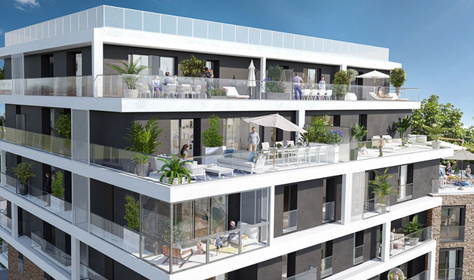 RENNES - ANATOLE FRANCE - Appartement 2 pièces 46.59 m²