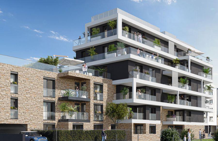 RENNES  - ANATOLE FRANCE  - Appartement 5 pièces 129 m2