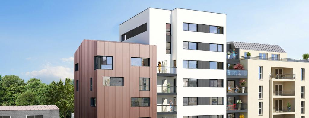 RENNES Beaulieu - Appartement 2 pièces 40.85 m²