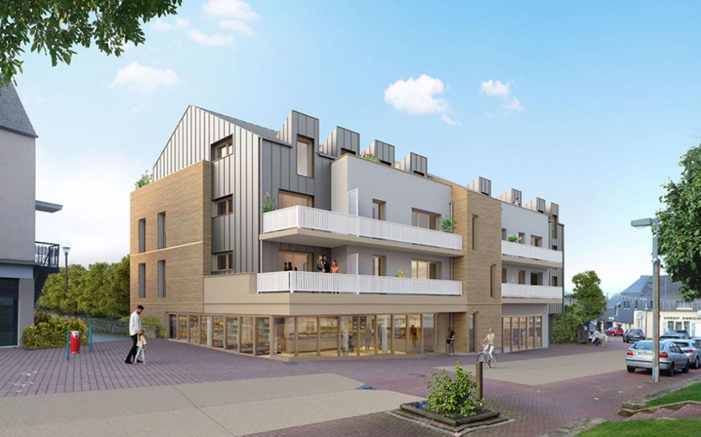 LA CHAPELLE DES FOUGERETZ - T4 de 103.10 m² avec 2 terrasses