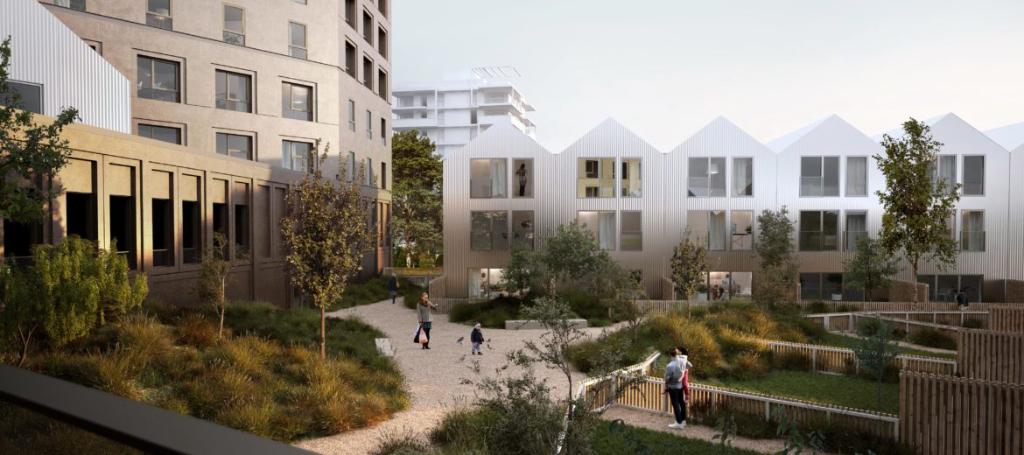 RENNES Villebois Mareuil - T2 de 46.85 m² avec loggia