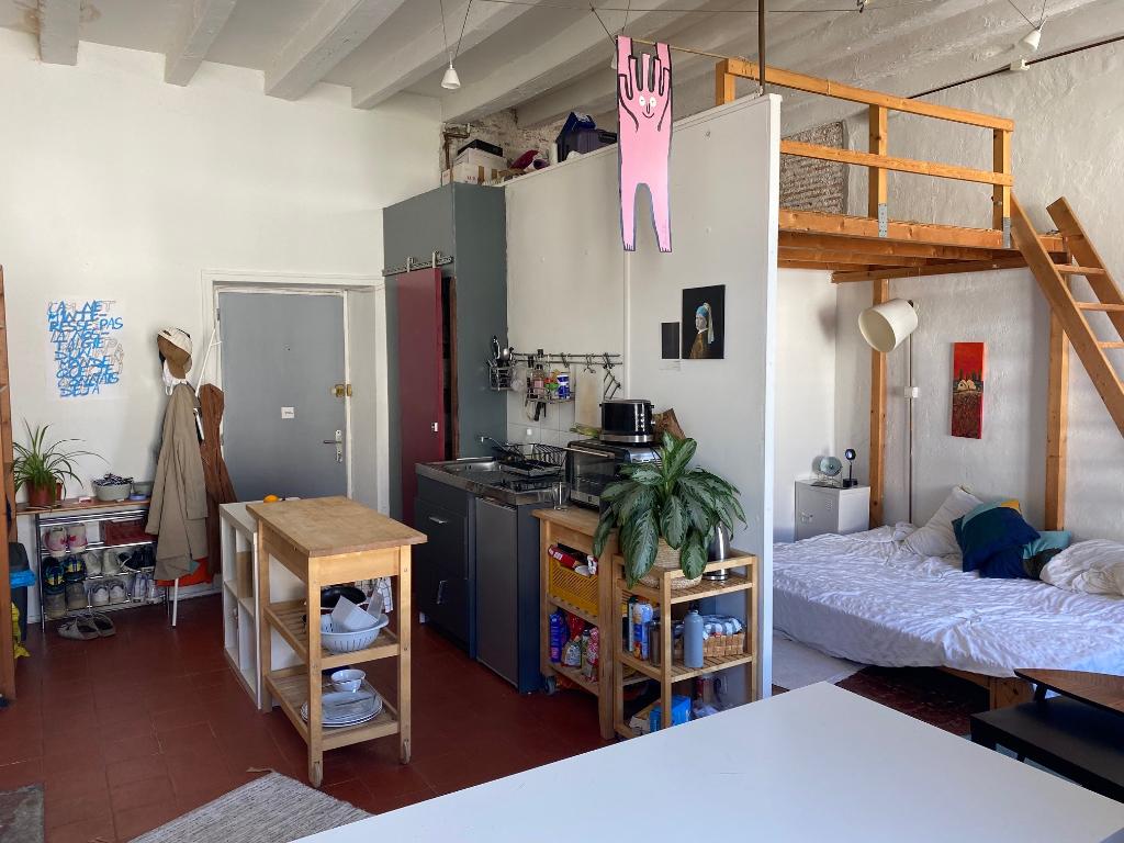 Nantes Canclaux - T1 bis de 30 m² (40 m² au sol)