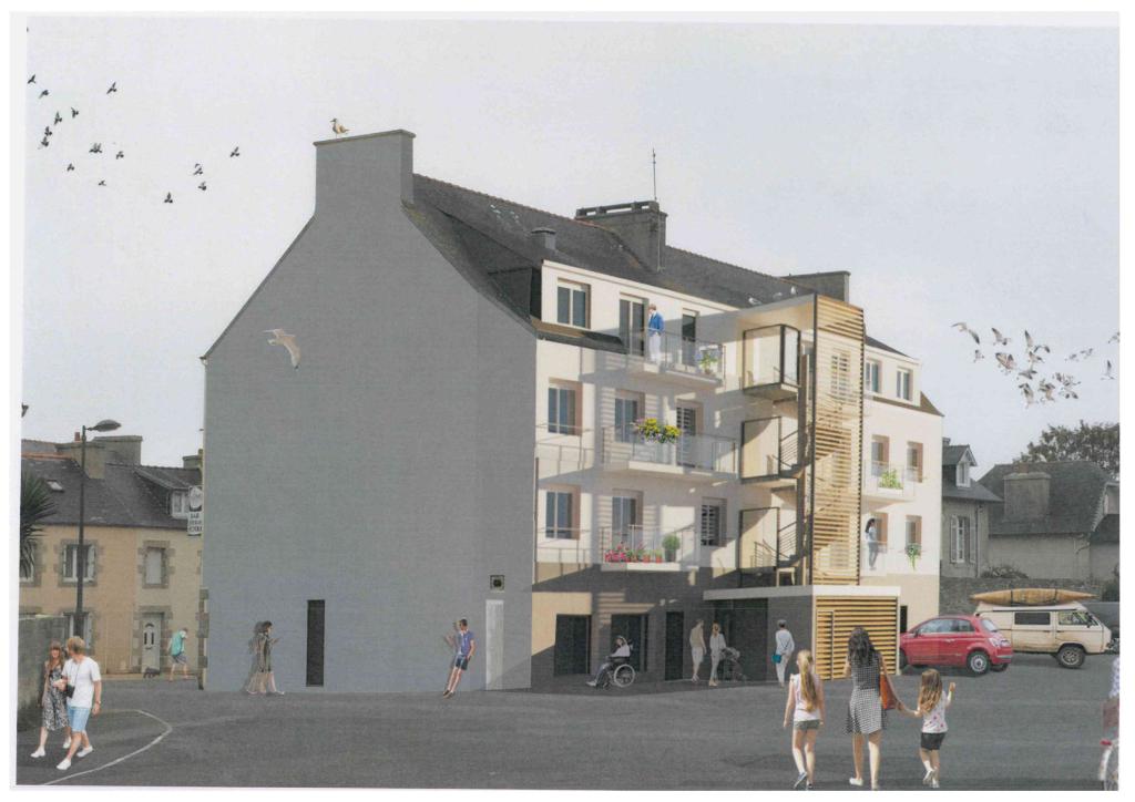 Appartement sur Brignogan Plages Lot 11