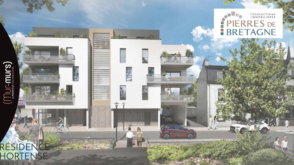 Appartement Guilers 2 pièces 42.55 m² + 8.85 m² de terrasse - Lot 34