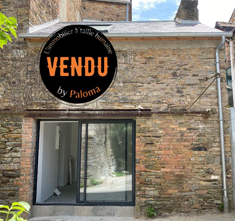 VENDU Appartement T2 DUPLEX - 34.93 m² (46.76 m² au sol) hyper centre Bain de Bretagne Ille et vilaine
