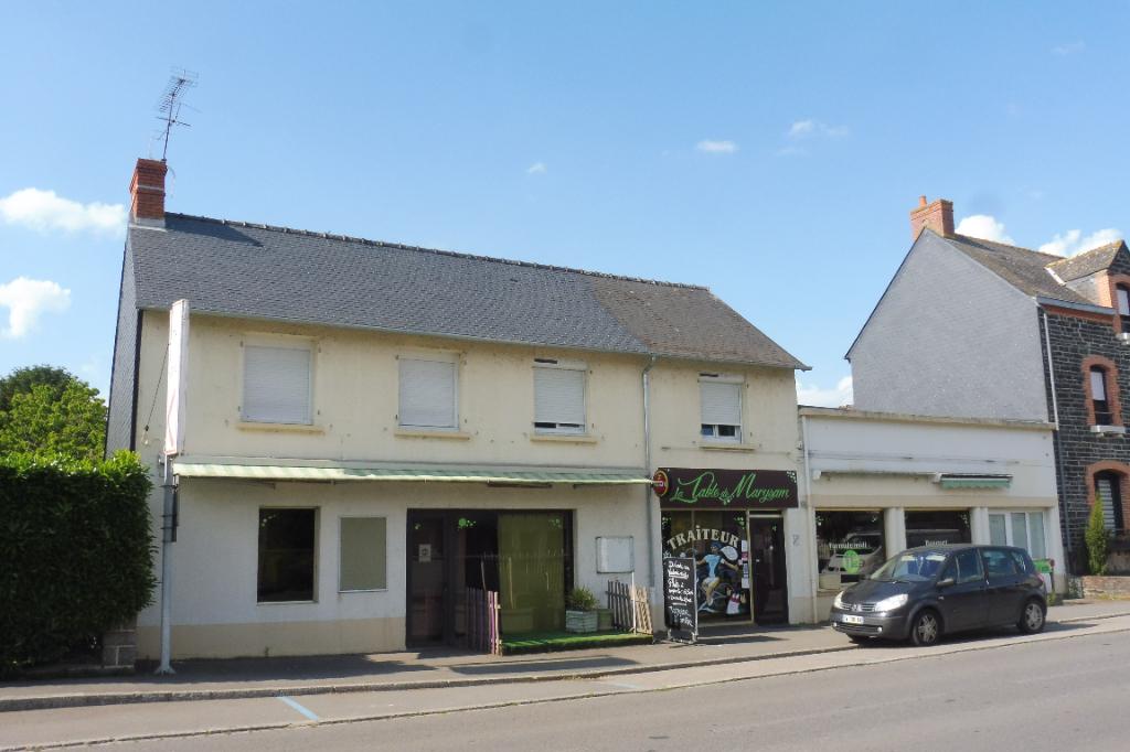 Murs et fond de commerce Restaurant avec Logement  3 chambres  Ille et Vilaine 35480 Guipry Messac 7 pièce(s) 210 m2