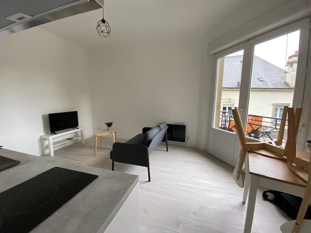 A louer appartement 2 pièces meublé PLOERMEL CENTRE VILLE