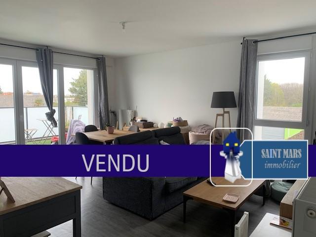 Appartement Vertou 3 pièce(s) 63.5 m2