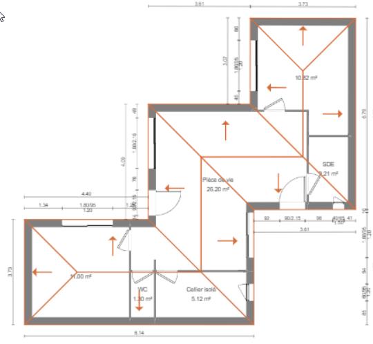 Venta  casa La jarne 239000€ - Fotografía 3