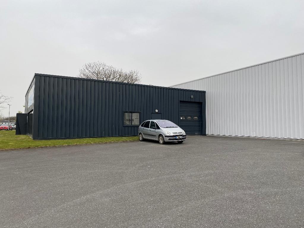 Visuel 5 de l'annonce : A louer BREST kergaradec Local d'activité 586 m²