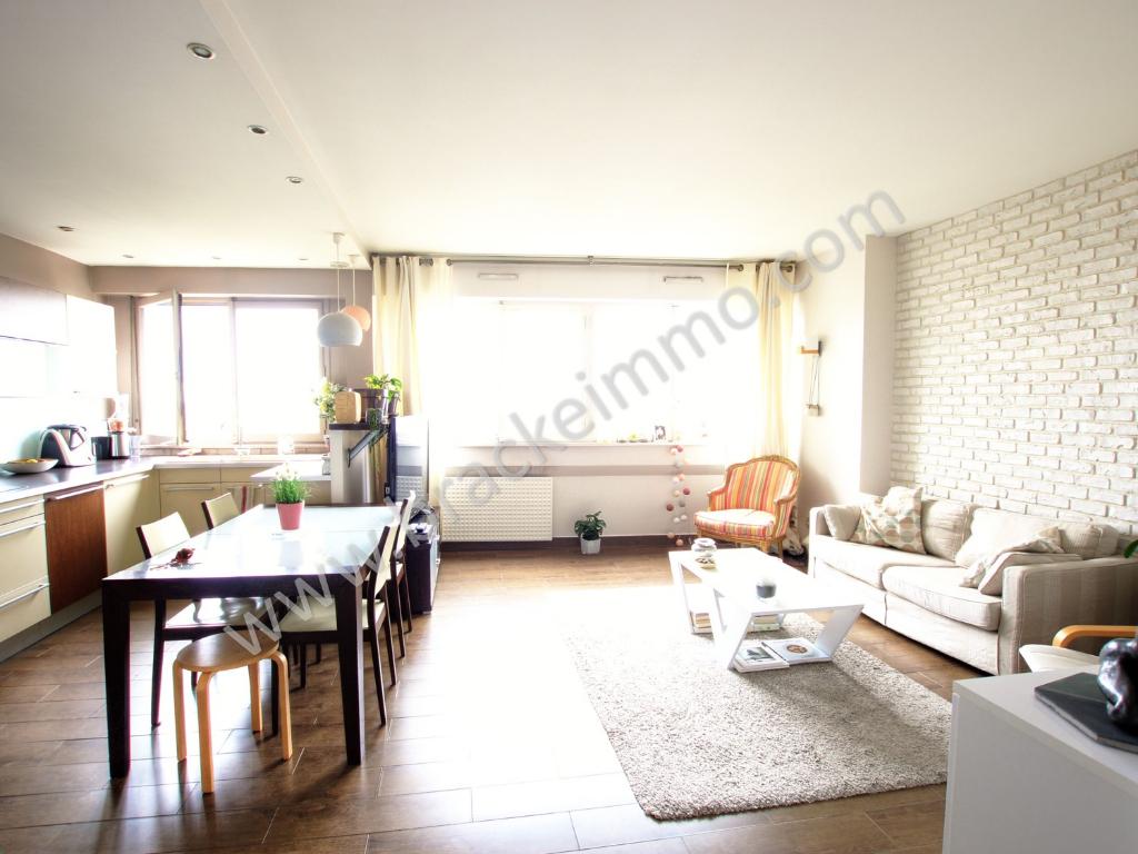 Vente Appartement de 4 pièces 108 m² - COURBEVOIE 92400 | BRACKE IMMOBILIER COURBEVOIE - AR photo1