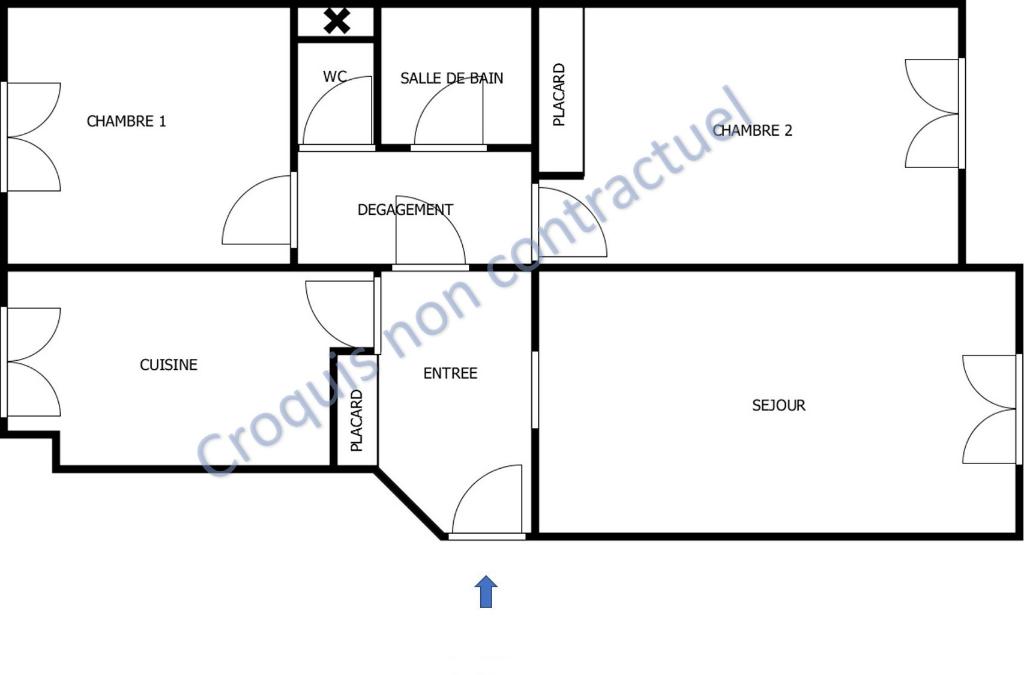 Vente Appartement de 3 pièces 70 m² - LA GARENNE COLOMBES 92250 | BRACKE IMMOBILIER COURBEVOIE - AR photo2