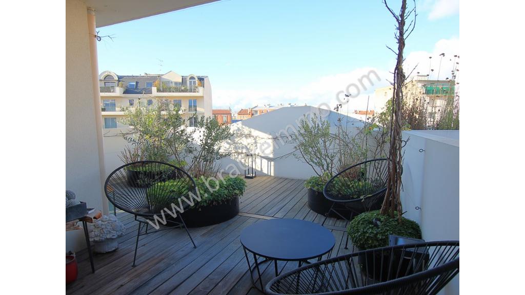 Vente Appartement de 3 pièces 75 m² - LA GARENNE COLOMBES 92250   BRACKE IMMOBILIER COURBEVOIE - AR photo1