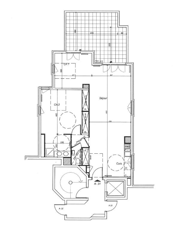 Vente Appartement de 3 pièces 75 m² - LA GARENNE COLOMBES 92250   BRACKE IMMOBILIER COURBEVOIE - AR photo2