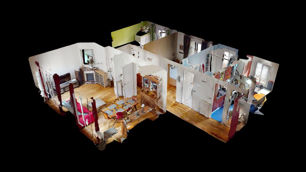 Vente Appartement de 4 pièces 68 m² - COURBEVOIE 92400 | BRACKE IMMOBILIER COURBEVOIE - AR photo2