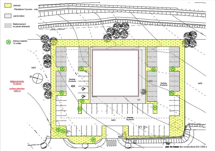 Visuel 4 de l'annonce : Bureaux Landerneau 439,42 m2