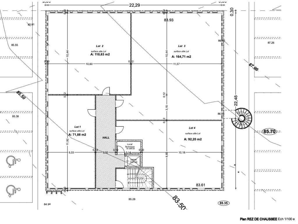 Visuel 6 de l'annonce : Bureaux Landerneau 439,42 m2