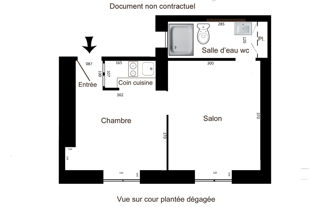 Location appartement Paris 9ème 926€ CC - Photo 2