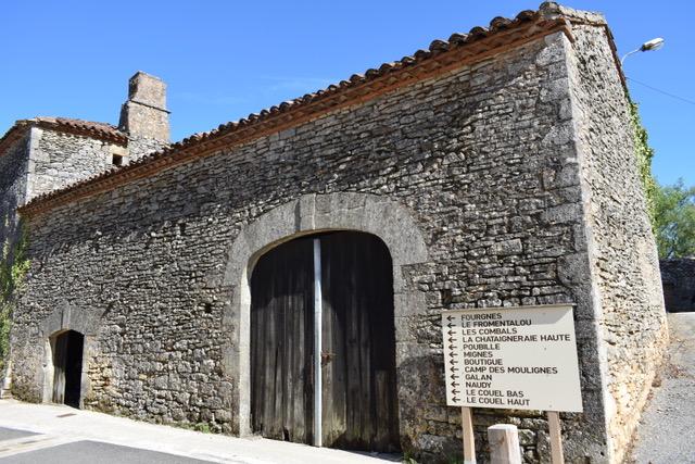 Grange en pierre à restaurer