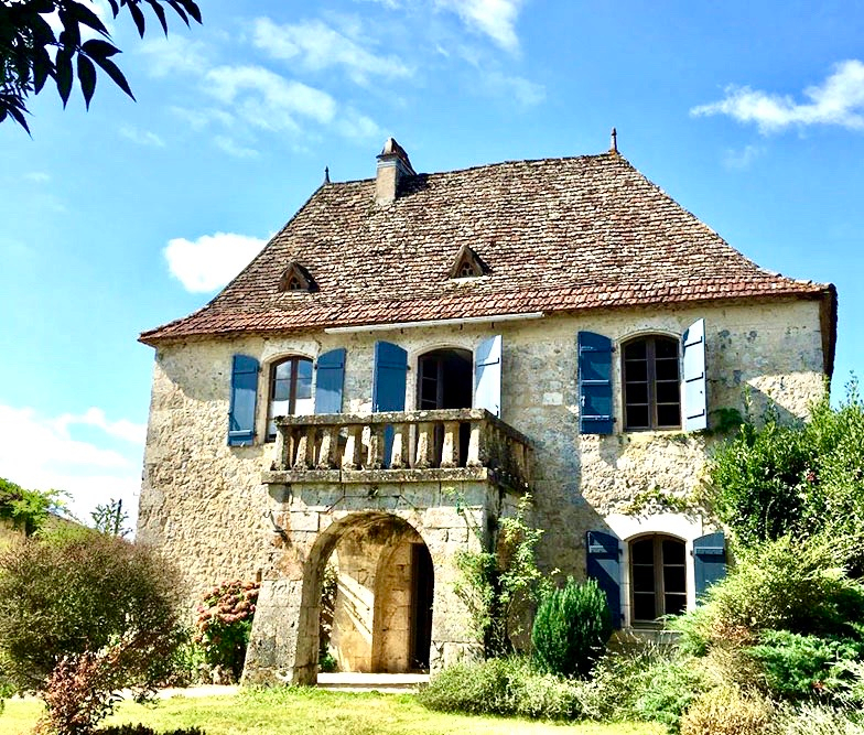 Charming stone property with Gite and Pool