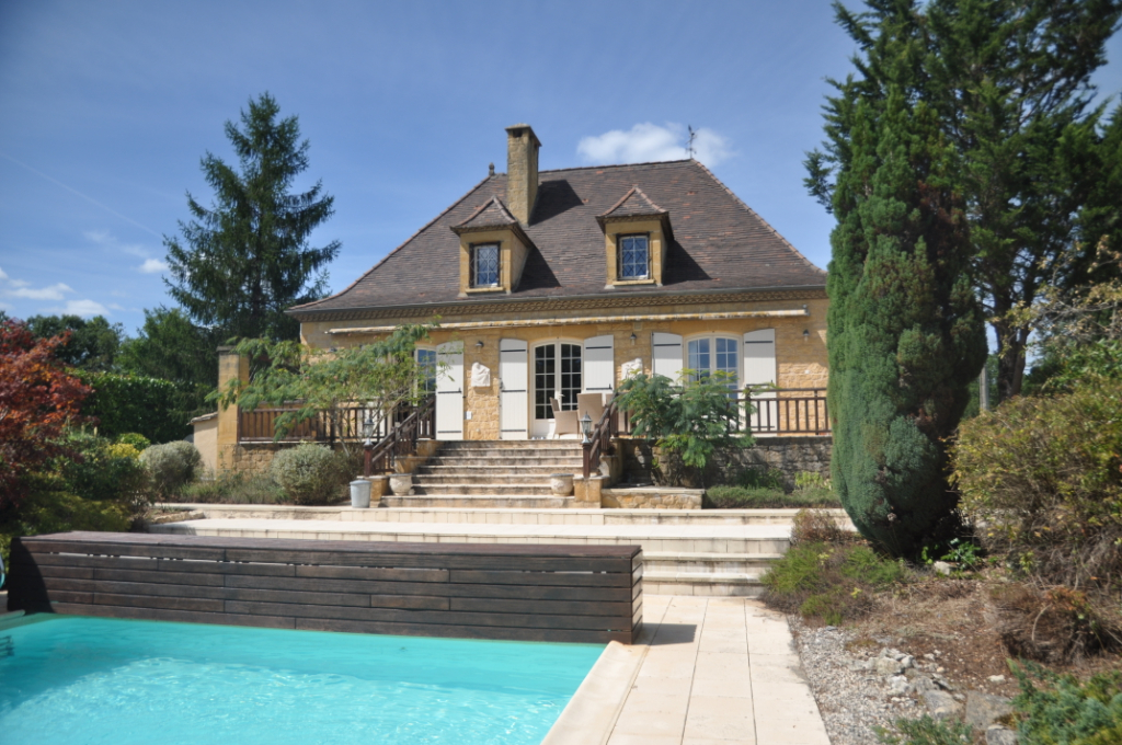 Stone property with pool near amenities