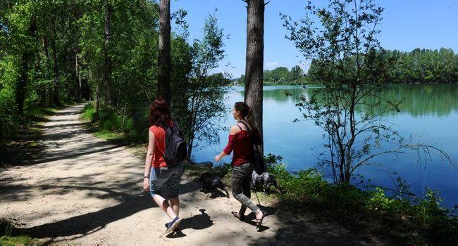 Venez vous détendre au bord du lac du site Passeligne-Pelissier!