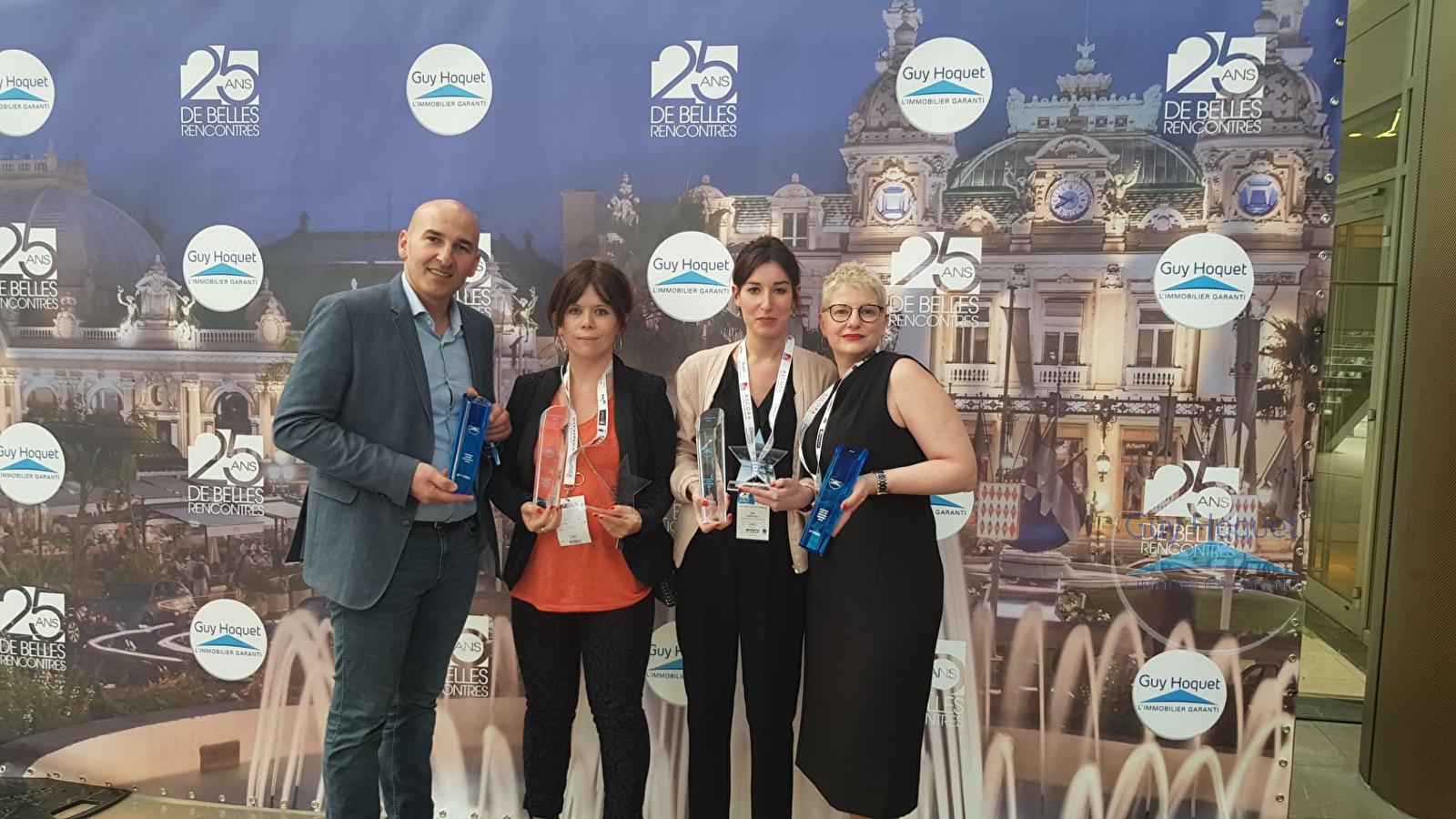 L'agence au top à la convention Immobilière de Monaco