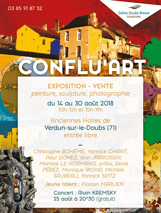 CONFLU'ART 2018 : Grâce à Mireille Fouchecourt, Verdun-sur-le-Doubs va de nouveau être « the place to be » des amateurs d'art contemporain
