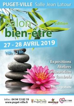 Salon Bien-être PUGET-VILLE 27-28 Avril 2019