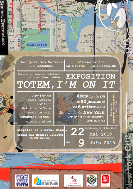 EXPOSITION 'TOTEM, I'M ON IT'