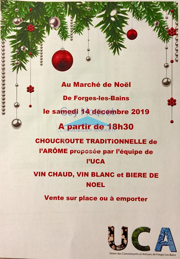 Marché de Noël de Forges-Les-Bains